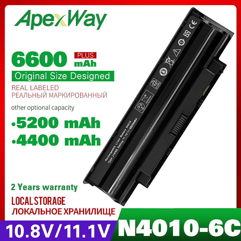 Battery For Dell Inspiron N5010 N5110 N5020 N5030 N5040 N5050 N3110 N4010 M5030 N7010 N7110 13R 14R 15R 17R 3450n 3550 3750