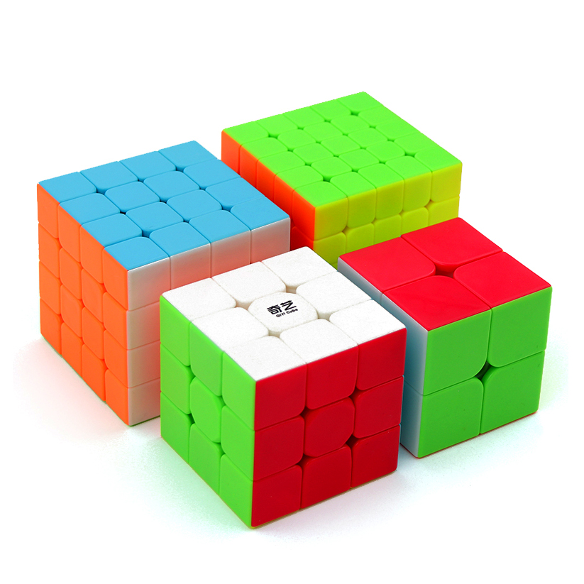 Qiyi 2x2 3x3 4x4 5x5 Puzzle Magic Cube Games Cubo Magico 3x3x3 4x4x4 QidiS WarriorW Speed Cubes Brithday Gift Educational Toy