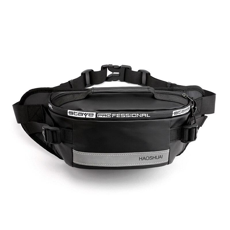 Fashion Anti-thieft Waist Bags Mens Sport Waist Fanny Packs Belt Bag Luxury Brand Waterproof Chest Handbag Outdoor Belt Bag