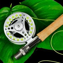 3/4 5/6 7/8 Aluminum Alloy 2+1BB Bearing Fly outdoor fishing flywheel front wheel ice fishing reel large fishing Accessories