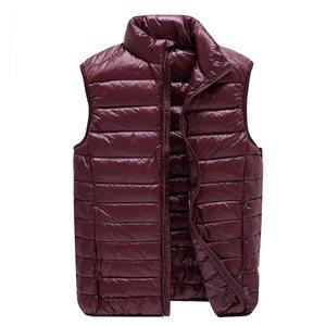 Image 4 - NewBang Brand 6xl 7xl Plus Vest Ultra Light Down Vest Men Portable Sleeveless Lightweight Warm Jacket White Duck Down Vests