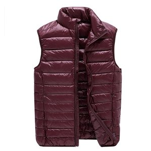 Image 4 - NewBang Chaleco ultraligero para hombre, 6xl, 7xl Plus, portátil, sin mangas, ligero, cálido, chaqueta de plumas de pato blanco