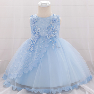 Лето 2020, 1 год, день рождения, Крещение, девочка, платья, вечерние, свадьба, цветок, девочка-принцесса, платье, 18, 24 месяца