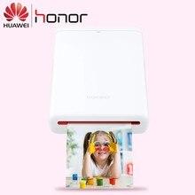 Original huawei zink impressora de fotos portátil ar impressora 300dpi honra bolso impressora bluetooth 4.1 suporte diy compartilhar 500mah