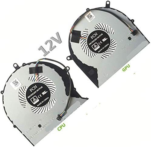 EJTONG New L+R Laptop Replacement CPU Cooler Fan for ASUS FX63V FX63VM FZ63VM FX63VM7300 FX63VM7700 Laptop CPU Cooling Fan