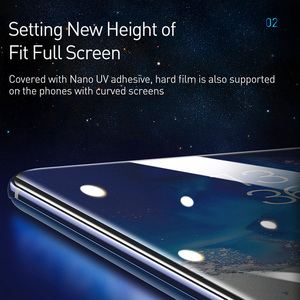 Image 2 - Baseus 2Pcs 0.25mm UV Screen Protector For Samsung Galaxy S20 Plus Ultra Full Cover Protective Tempered Glass For Samsung S 20