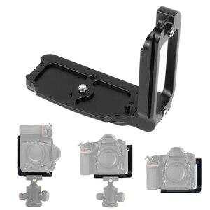 Image 1 - Placa de liberación rápida para cámara Nikon D850 aleación de aluminio soporte profesional Carga rápida L, piezas de repuesto para fotografía