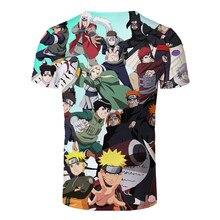 2021 Anime Manga 3D Printing Street Harajuku Men's And Women's T-Shirt Clothing O-neck T-Shirt Oversized Loose Sweatshirt