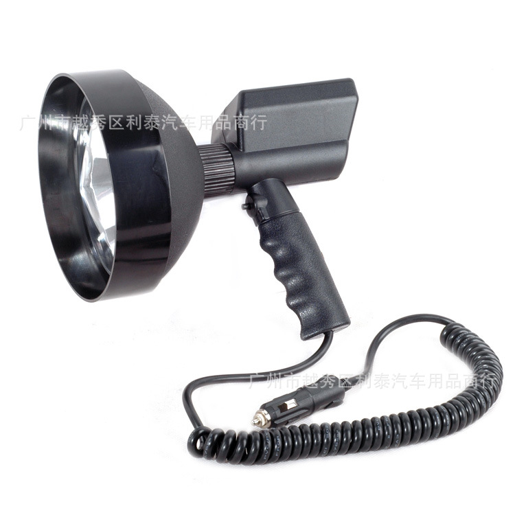 12V 100W 7 Inches Hid Hand-Held Spotlight Xenon Search Light Outdoor Hunting Light Manufacturers Wholesale