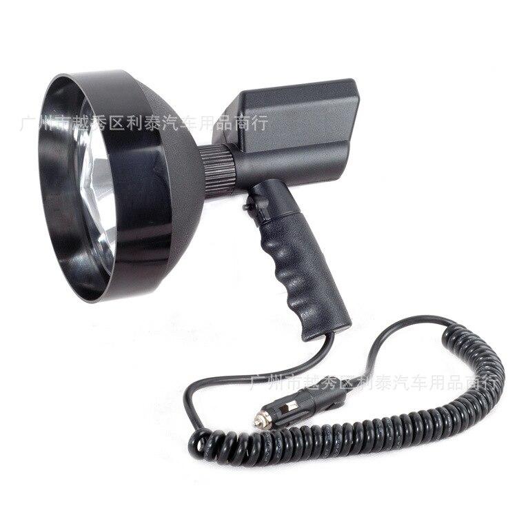 12V 100W 7 Polegadas Hid Hand-Held Xenon Holofotes Caça Busca de Luz Ao Ar Livre Luz Fabricantes Atacado