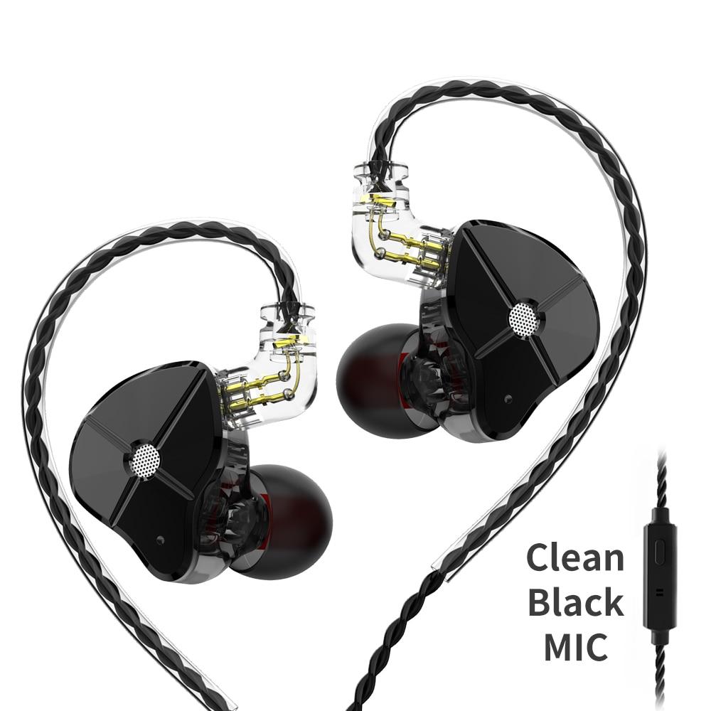 TRN ST1 1DD+1BA Hybrid In Ear Earphone HIFI DJ Monitor Running Sport Earphone Earplug Headset With 2PIN Detachable TRN V80 BA5