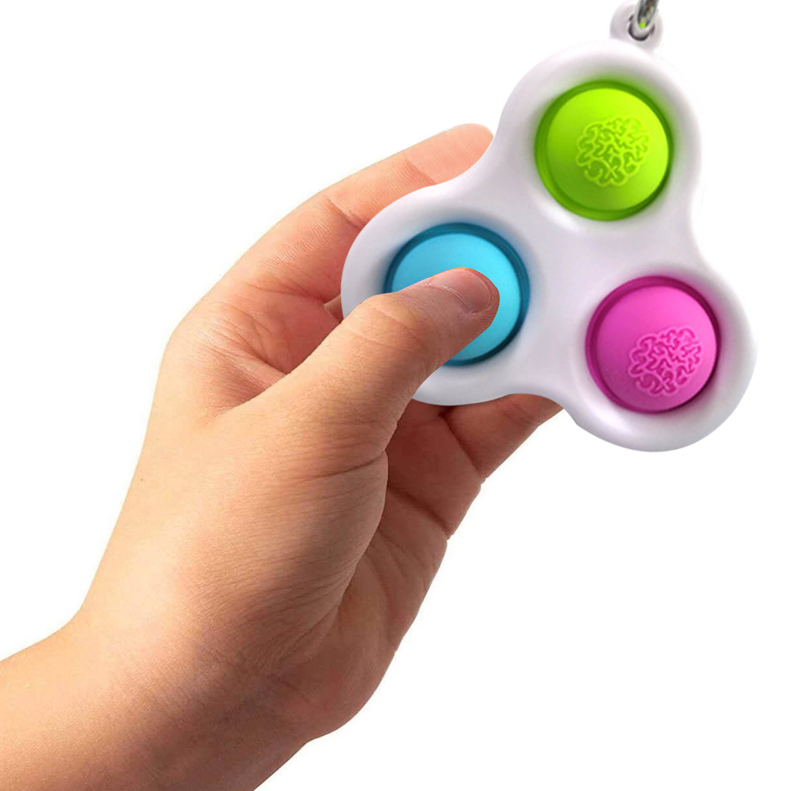 Fidget-Toys Decompression Toy Pressure-Reliever-Board Popit Adult Simple Dimple Children img4