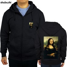 Neue angekommene Mona Lisa Carlins shubuzhi männer zipper sweatshirt herbst luxus marke mode rock hoodies casual hip-hop cool hoody(China)