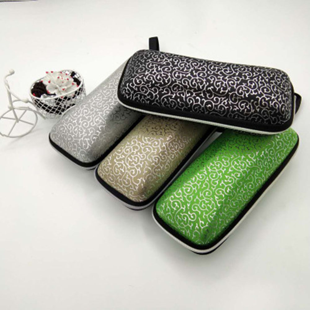 Eyewear Cases Sunglasses Reading Glasses Carry Bag Hard Zipper Box Travel Pack Pouch Case Eye Contacts Case