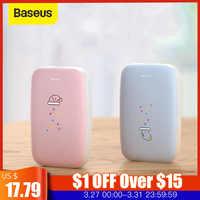Baseus Heater Hand Warmer Power bank 10000mah Heating Pad Rechargeable USB Heater Handy Handwarmer Pocket Mini Electric Heater