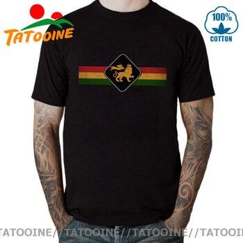 Tatuoine-Camiseta Vintage de León Rasta para hombre, Camiseta Retro de Rastafari, Camiseta...