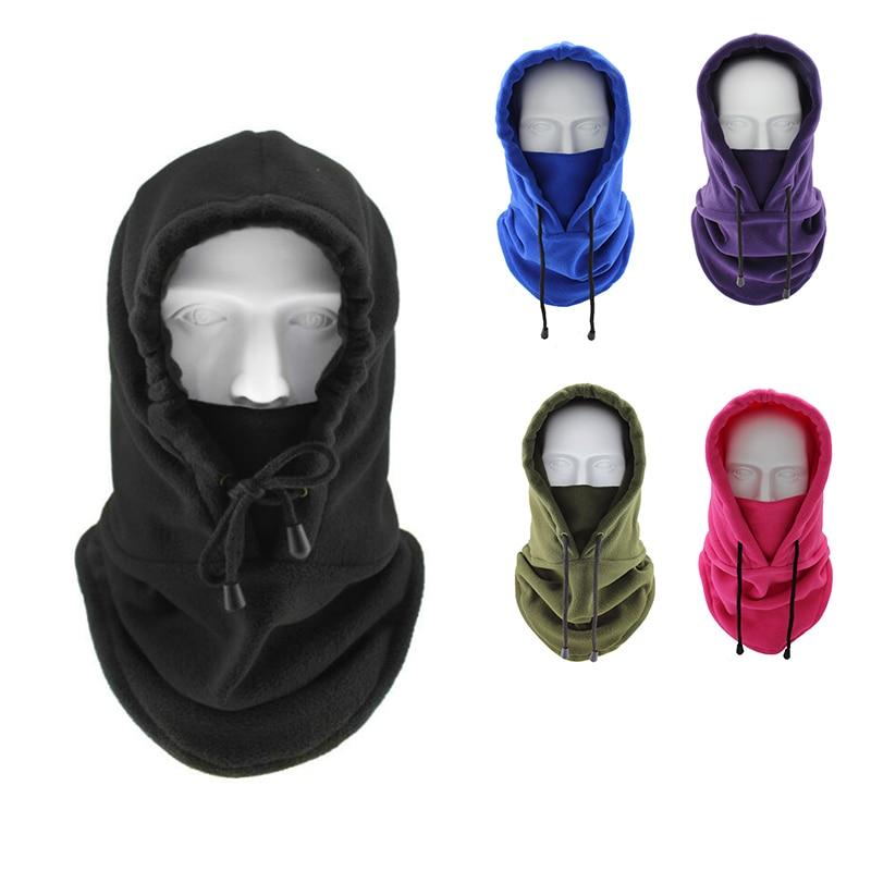 Motorcycle Mask Full Face Mask Fleece Cap Balaclava Neck Warmer Hood Winter Sports Ski Men Women Tactical Mask Men Mask Sun