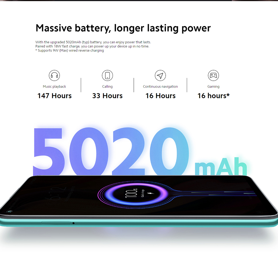 New Global Version Redmi Note 9 128GB 4GB Smartphone Helio G85 5020mAh battery 18W fast Charging 6.53