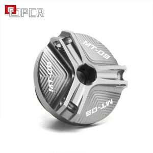 Image 3 - Алюминиевый наполнитель для масла для мотоцикла Yamaha MT09 MT 09, TRACER FZ09, M2.0 * 2,5, Крышка Штепсельной Вилки с логотипом на mt 09