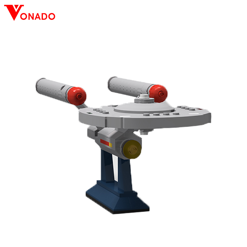 Vonado Star Trek Series NCC-1701Diy Building Blocks Bricks Star Wars Creative MOC-6021Toys For Children