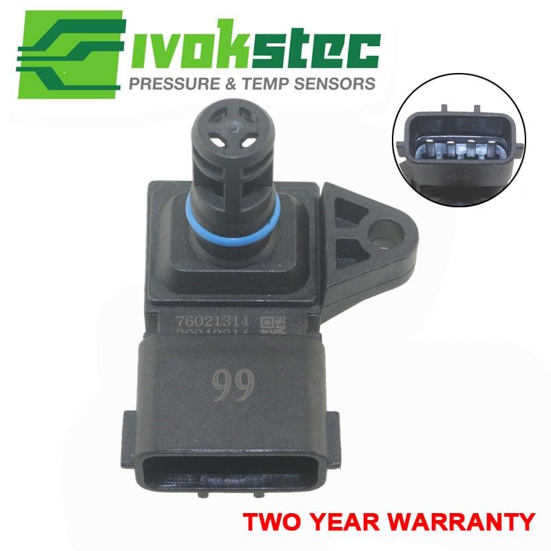 5WK96841 2045431 4Bar (4 Bar) Manifold Intake Air Pressure Sensor MAP Sensor For Renault Peugeot 405 Kia Pride Hyundai Citroen