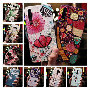 For Doogee X90 Case 3D Flower Emboss Silicone Phone Cover For Doogee X90L Case Y8C 6.1'' Y8 Shell X 90 90L Y 8C 8 Relief Soft image