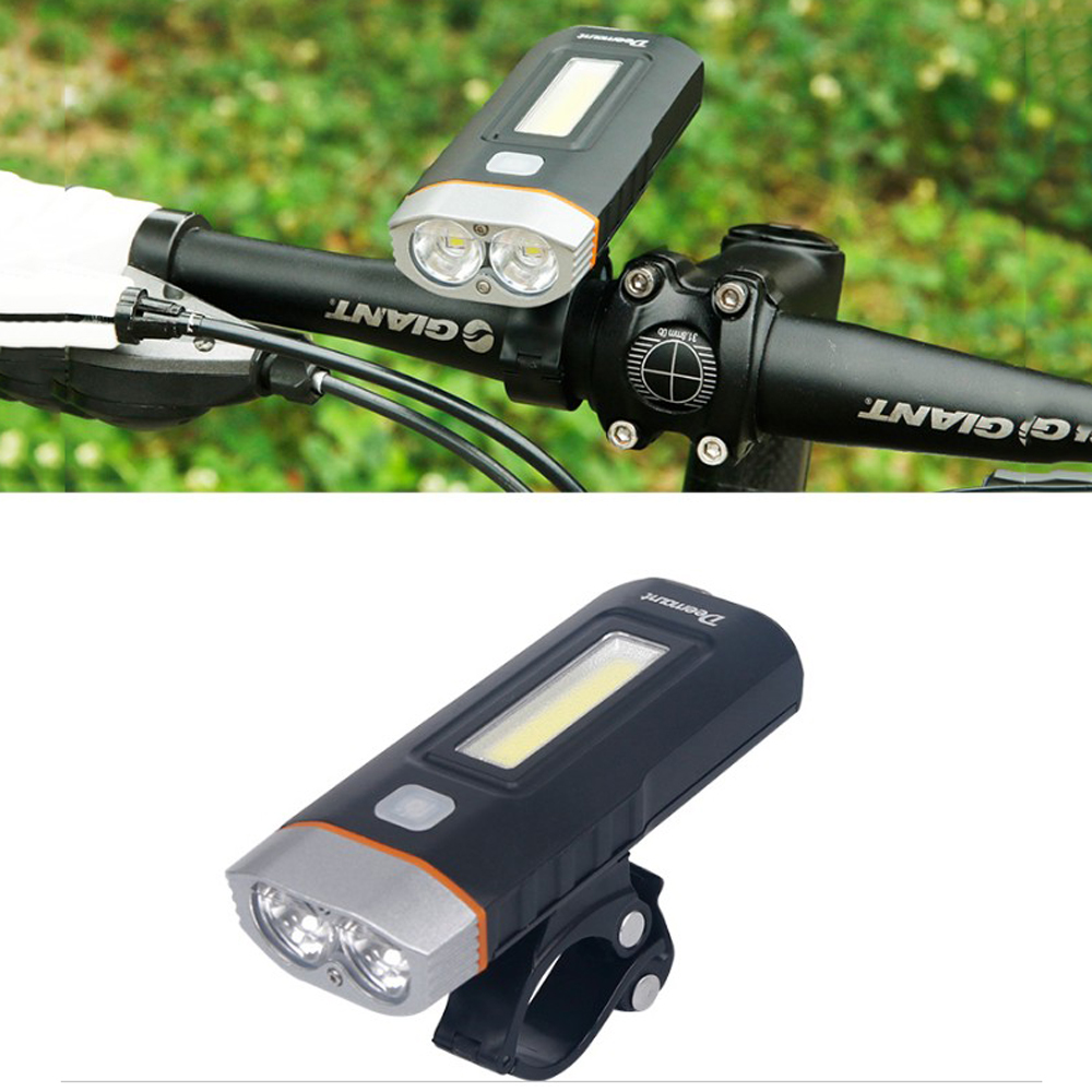 Red Rear Light Set T6 LED Bike Cycling Lamp Kit Adjustable Bicycle Front Torch