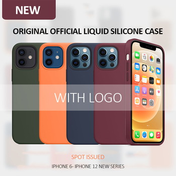 With Logo Original Official silicone case for iphone 11 pro xs max XR X 6s 7 8 6 plus 12 mini 12 Pro Max Full Protect Cover Case launch x431 pro mini with bluetooth function full system 2 years free update online mini x 431 pro powerful auto diagnostic tool