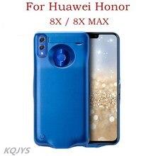 Kqjys Power Bank Batterij Opladen Cover Voor Huawei Honor 8X Batterij Case Draagbare Batterij Oplader Case Voor Honor 8X Max