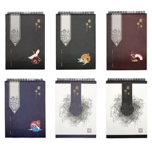 Notepad Notebook-Sketchbook Watercolor Drawing Paper A4 for Painting Diary Journal