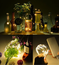 Indoor outdoors USB LED lamp waterproof Christmas Holiday lights Copper wire string party festival Lamp string Decorative lamp