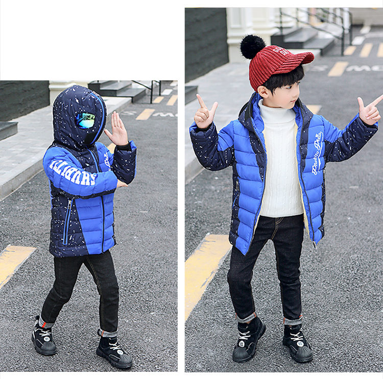 Hf8c7da0d44364cd8855037a94e0e6e28q - Winter Warm Kids Boys Jackets With Glasses For Children Waterproof Cotton-Padded Parkas with Glasses Teenage Hoodies Coat