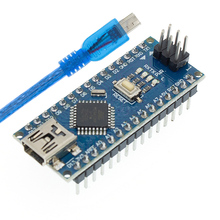 Envío gratuito 100 Uds Nano 3,0 controlador compatible nano CH340 controlador USB CABLE NANO V3.0