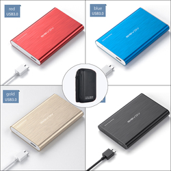 ACASIS 2.5'' External Hard Drive USB 3.0 Colorful Metal HDD Portable 80GB-1TB Disk for Desktop Laptop Server Super Deals
