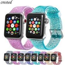 Желе ремешок для наручных часов apple watch версии 40 мм 44