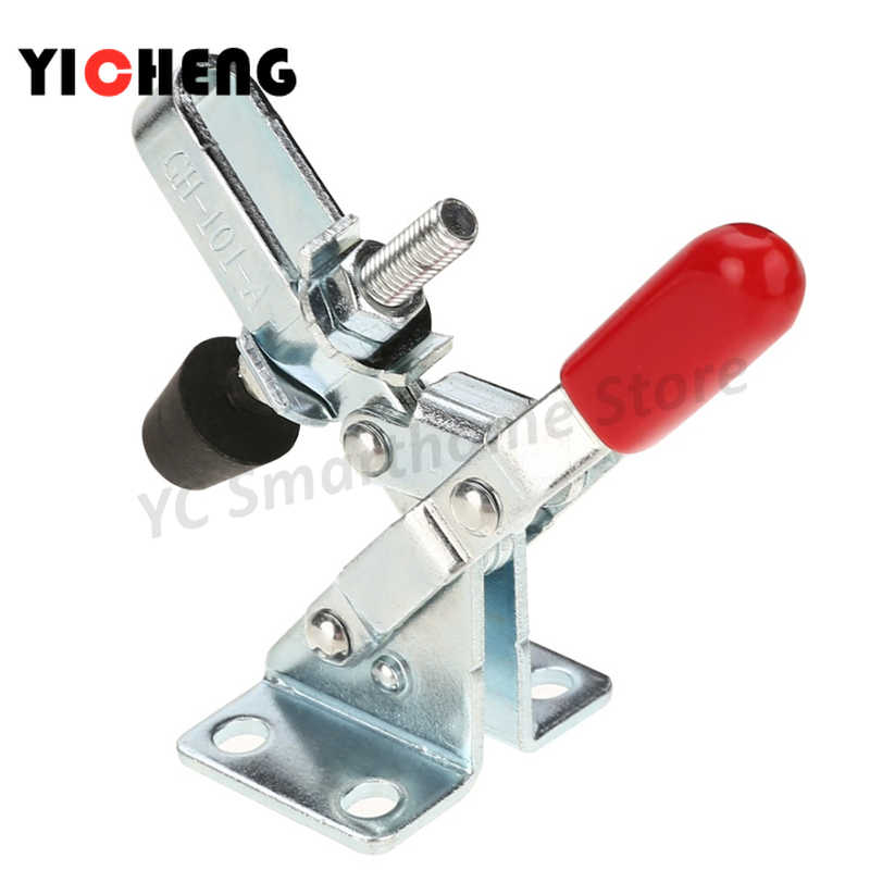 4×GH-201A Vertical Horizontal Quick Release Toggle Clamps Hand Push Tool Set Fa