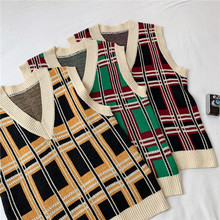 Sweaters Vest Male Spring Autumn New V-Neck Pullover Casual