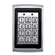 RFID Access Control Keypad with 1000 Users 125KHz Card Reader Keypad Key Fobs Door Access Control System