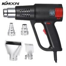 2000W Industrielle Heißer Air Gun LCD Digital Temperatur gesteuert Wärme Gebläse Elektrische Einstellbare Temperatur Wärme Gun Werkzeug