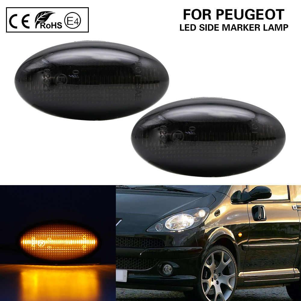 Paar Smoke Led Side Marker Lamp Knipperlichten Voor Peugeot Citroen Toyota Aygo Toyota Proace Fiat Scudo Aliexpress