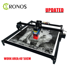 40W Desktop Laser Engraver and Cutter - Laser Engraving and Cutting Machine - Laser Printer - Work Area 40*50cm For Cutter