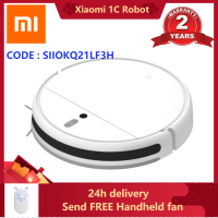 Original XIAOMI MIJIA Sweep Mop Robot Vacuum Cleaner 1C for Home Auto Dust Sterilize 2500PA cyclone Suction Smart Planned WIFI