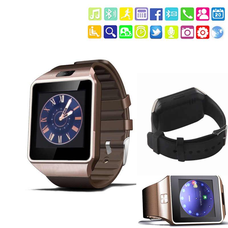 DZ09 Bluetooth Smartwatch с сенсорным экраном спортивные Смарт наручные часы фитнес трекер