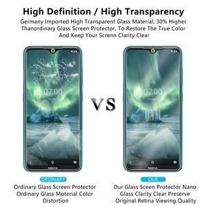 Image 5 - Vidro temperado Para NOKIA 7.2 6.2 4.2 3 V 3.1 C 3.1 A 2.2 3.2 4.2 Protetor De Tela 9H vidro temperado Para Nokia 1 Plus X71 Filme *