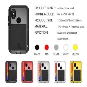 Image 5 - Metal Case For Xiaomi Mi Max 2 3 Armor Full Body Protective Cover  Shockproof Xiaomi Mi Mix 2 2s Case Xiaomi Mi Max3 Cases Mix2s