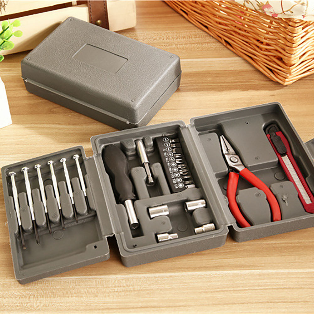 24-Piece Home Car Insurance Gift Set Hardware Tool Kit Repair Combination Tool Set 3