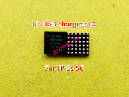 50pcs/lot charging charger ic 36pins U2 1610 1610A 1610A1 for iphone 5S 5c