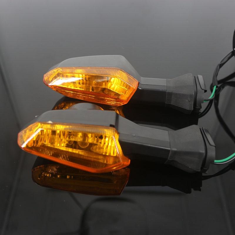 Image 4 - For KAWASAKI NINJA 650 NINJA650 ER6N ER 6F ER 6N 6F Z 800 1000 Motorcycle Front / Rear Turn Signal Indicator Light Blinker Lamp    -