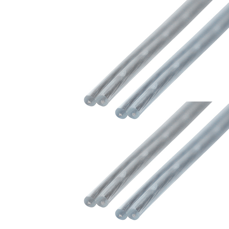 10 метров 28awg 2 ядра медный провод 2468 прозрачная параллельная линия плоский двойной провод прозрачный электрический провод видео кабель
