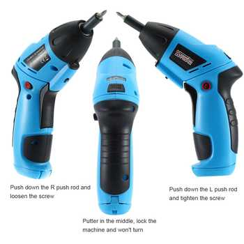 12V Electric Screwdriver Electric Drill lithium cordless drill Cordless Screwdriver Mini Drill Power Tools